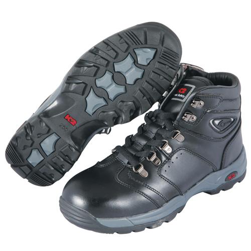 국내 K2 안전화(지퍼) K2-46 흑색 -작업화.절연화.정품.케이투.공구나라