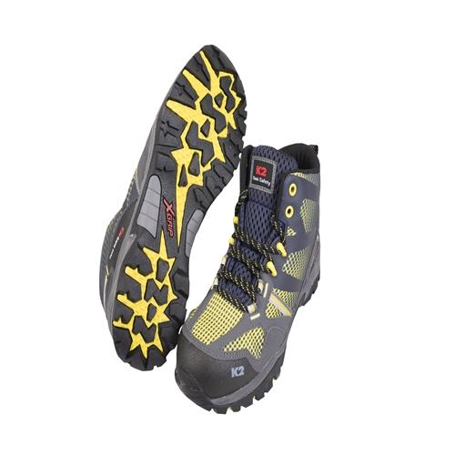 국내 K2 안전화(지퍼) K2-66 옐로우 -작업화.절연화.정품.케이투.공구나라