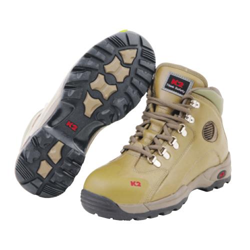 국내 K2 안전화(지퍼) K2-36 브라운 -작업화.절연화.정품.케이투.공구나라