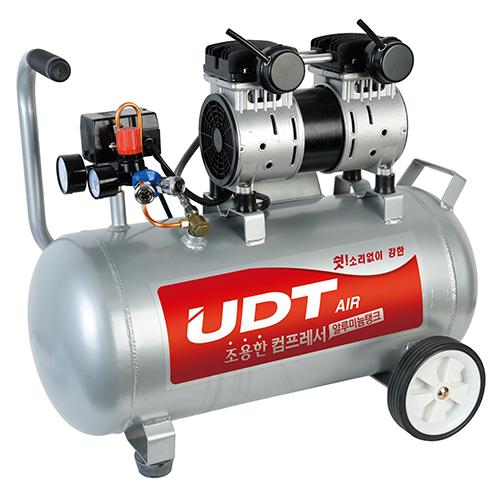 국내 UDT컴프레서 조용한컴프레서 UDS-3040A(알루미늄탱크) -저소음콤프레샤.공구나라
