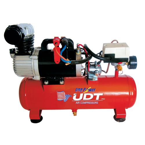 국내 UDT컴프레서 DC컴프레서 UDT-DC0108-12V(오일타입) -DC콤프레샤.공구나라